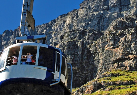 Table Mountain funicular Cape Town