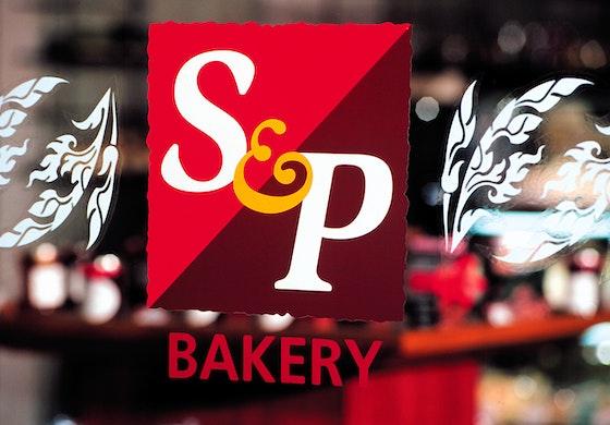 S&P bakery Bangkok identity