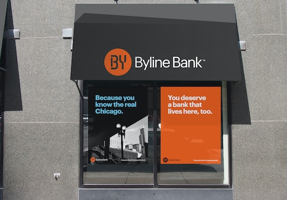 BylIne Bank Chicago identity Landor