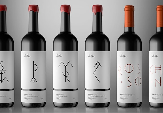 Tenute del Cerro wine identity packaging
