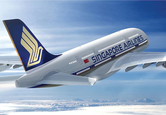 Singapore Airlines identity livery