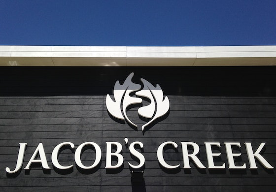 Jacob's Creek identity signage
