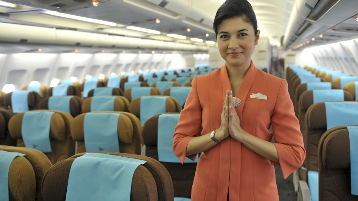 Garuda Indonesia Plane Environment