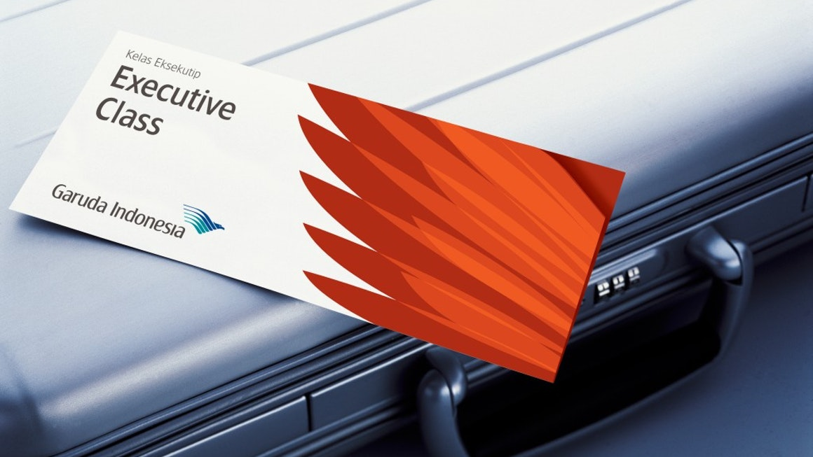 Garuda Indonesia Executive Class Card