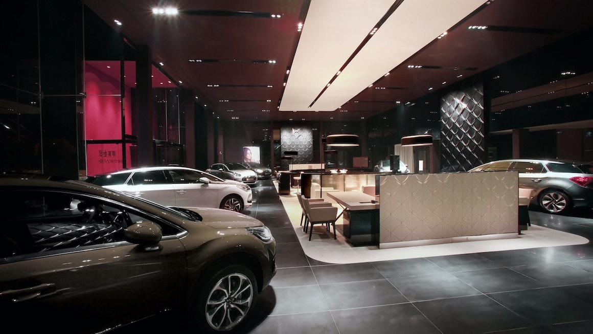 Citroën DS showroom