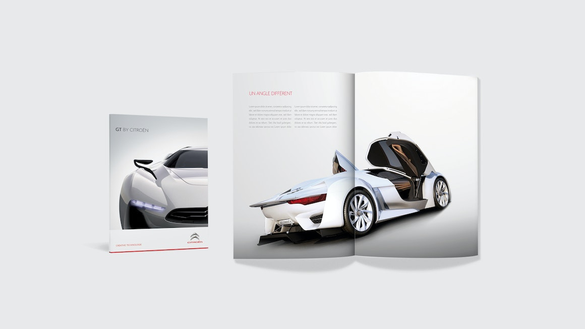 Citroën Magazine Spread
