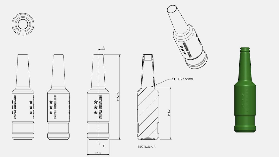 Jameson CAD industrial design