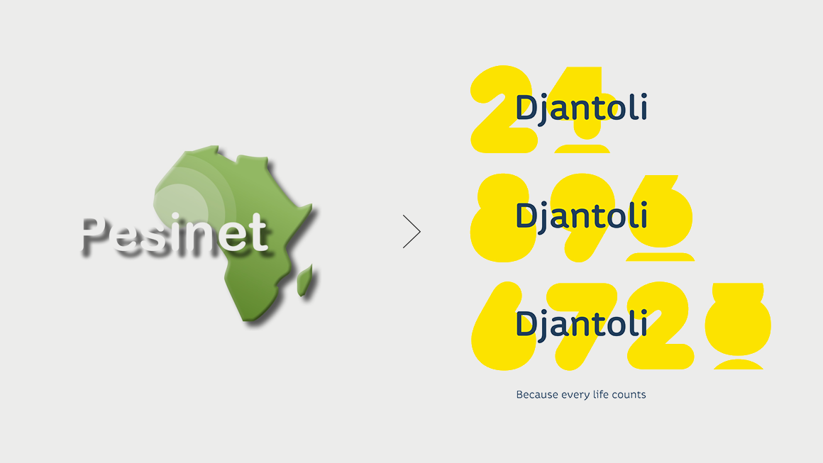 Djantoli visual identity before and after