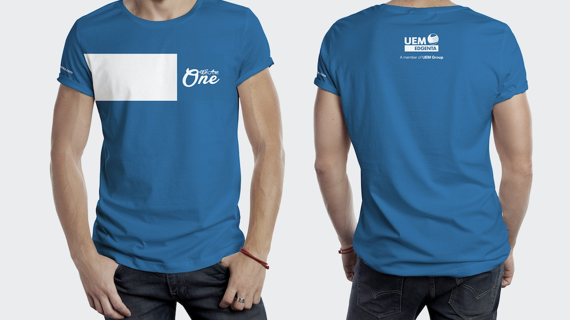 UEM Edgenta Staff Shirts at Launch