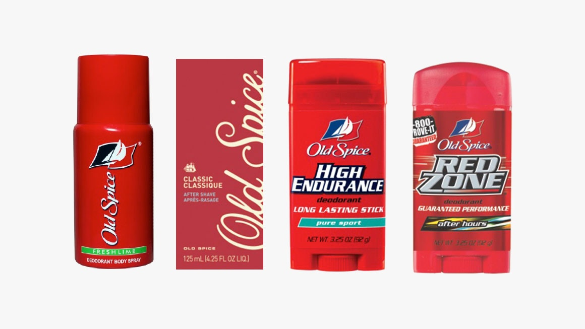 Old Spice prior product line