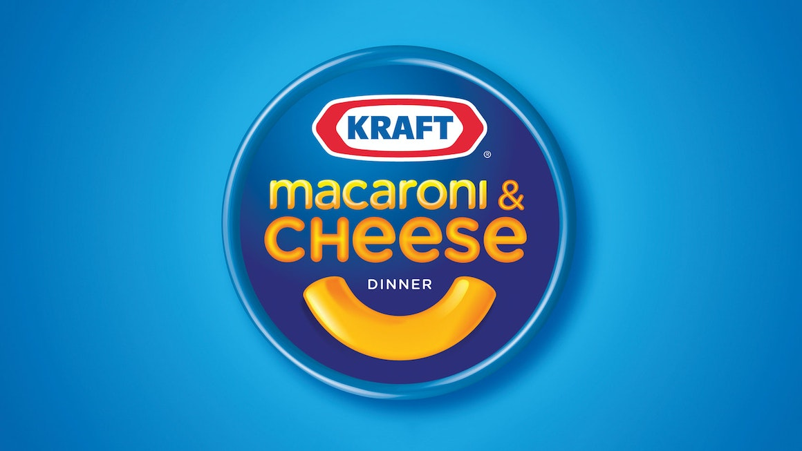 Kraft Macaroni & Cheese Visual Identity and Logo Lockup