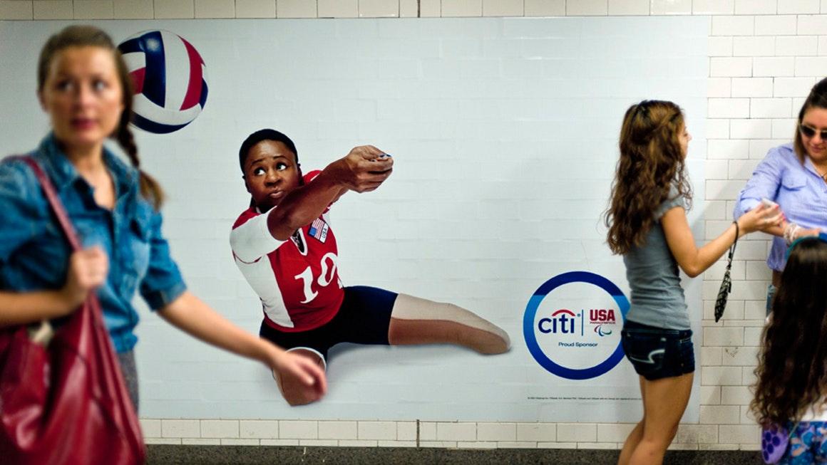 Landor at the Olympics Citi activation at London games