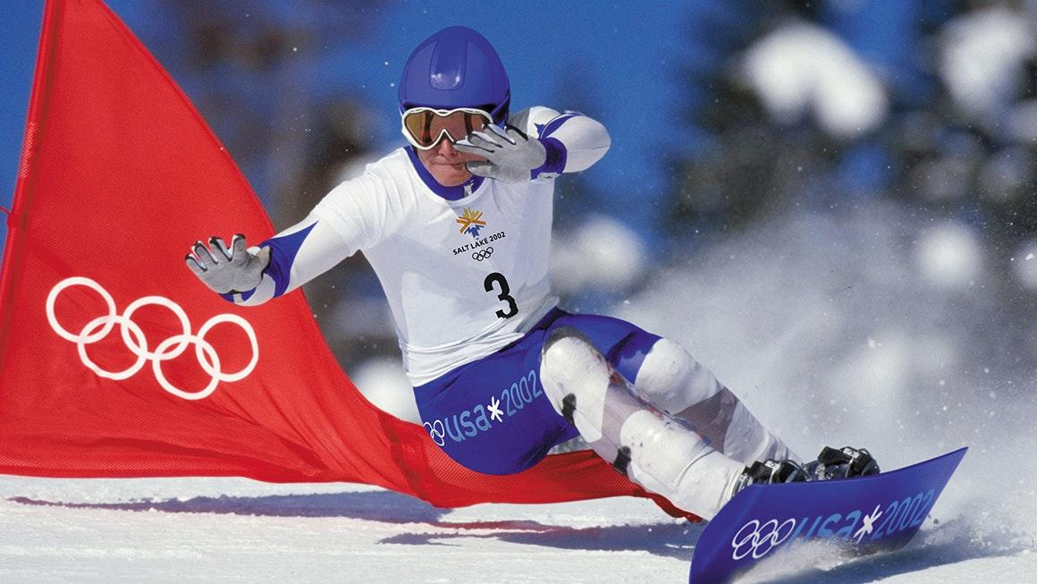 Landor at the Olympics hero
