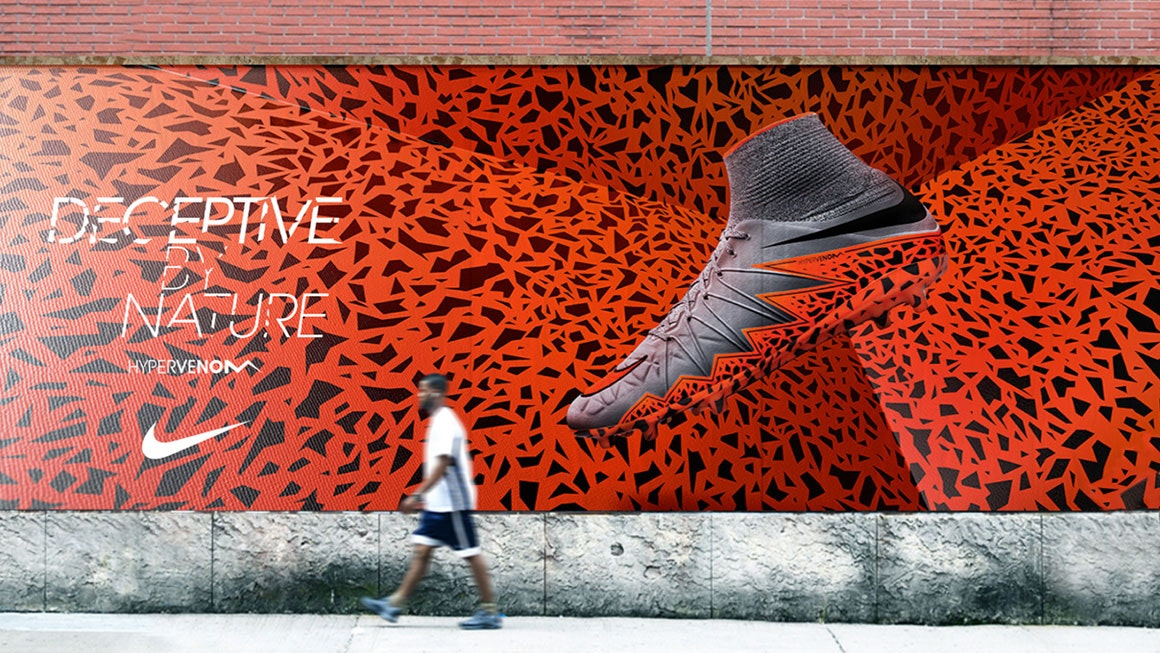 Nike Hypervenom II Advertising Activation
