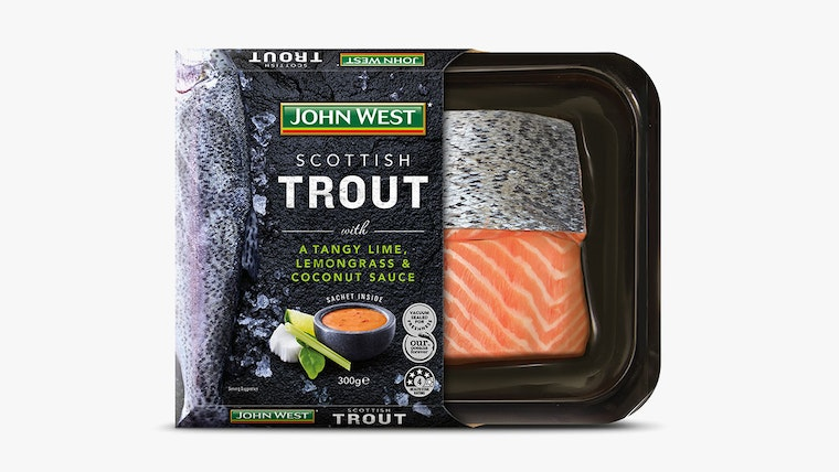 John West chilled packaging