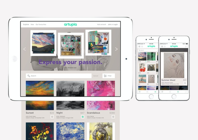 Artupia online apps