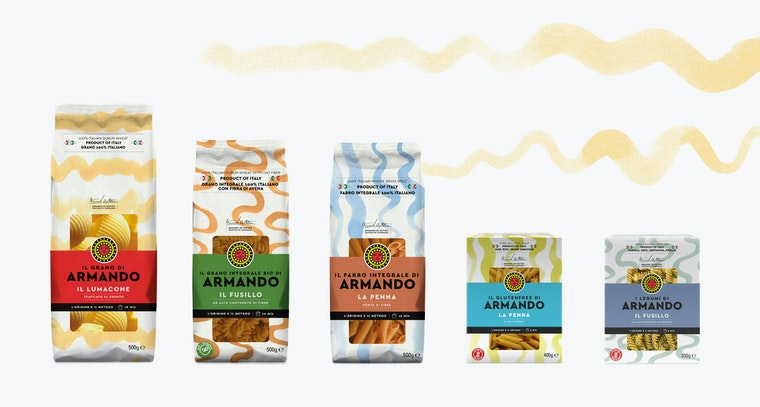 Pasta Armando packaging
