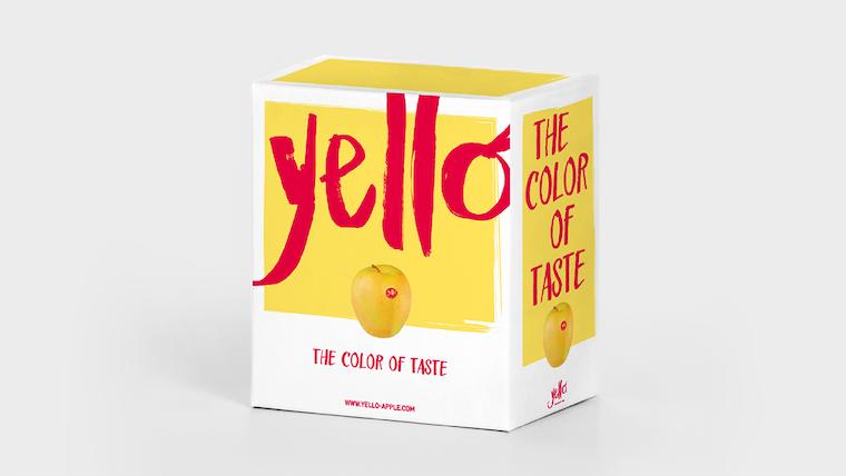 New yello packaging