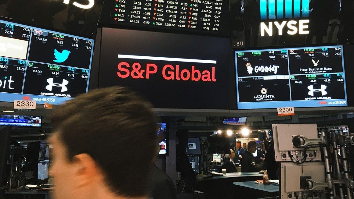 S&P Global trading room floor