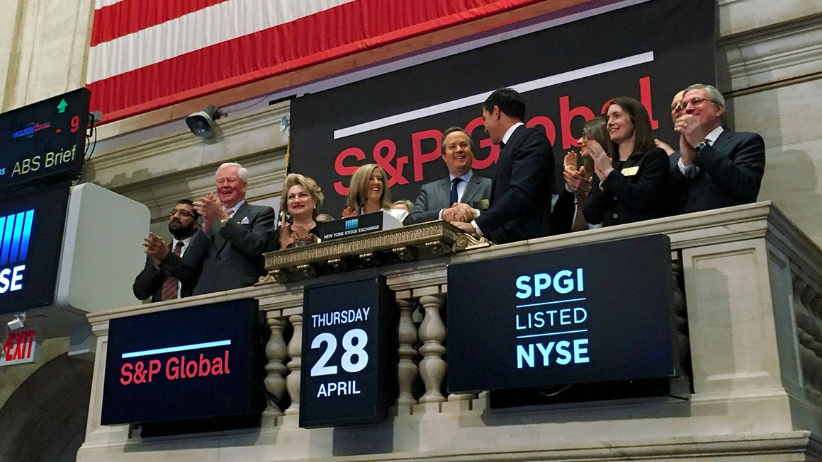 S&P Global stock exchange