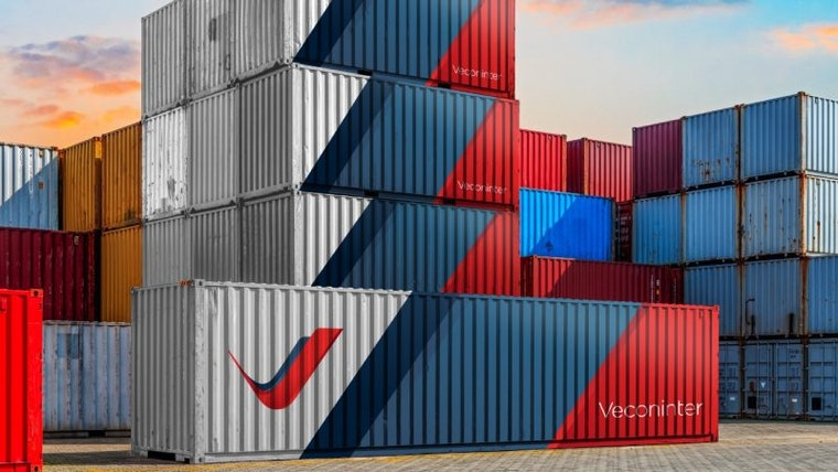 Veconinter Shipping Containers Stacked