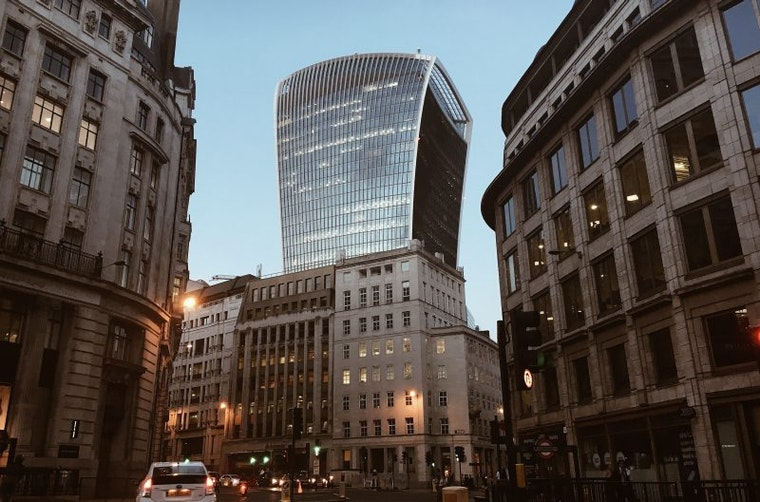 Branding for buildings: Walkie Talkie building