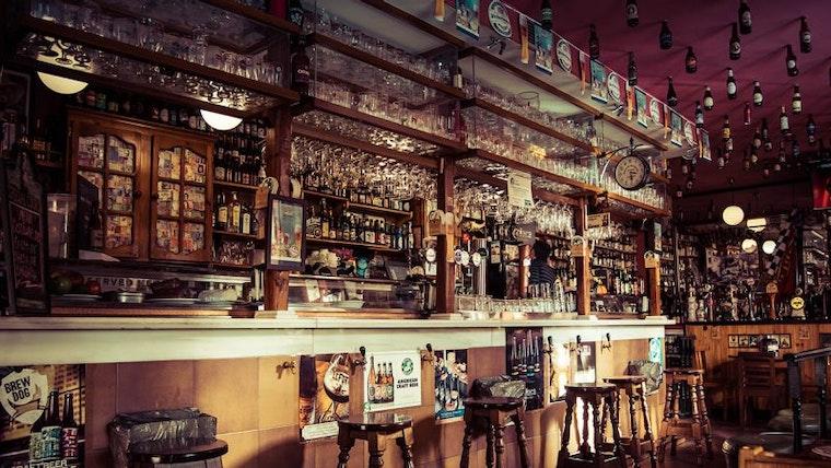 Craft Beer Bar: Wine brands byline