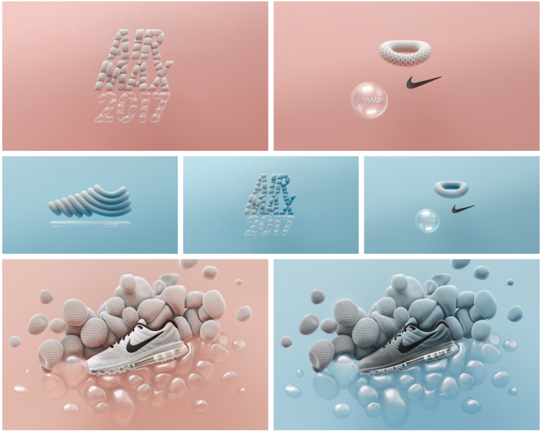 ManvsMachine Nike Air Max Applications
