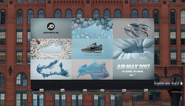 ManvsMachine Nike Air Max billboard