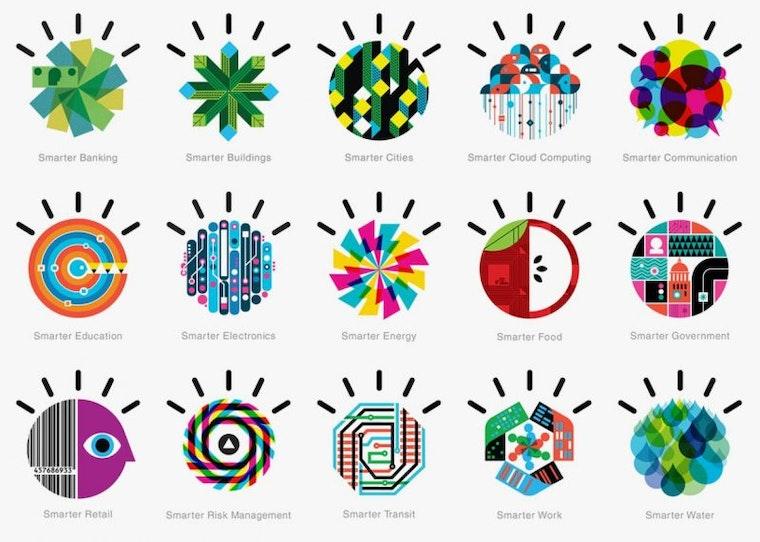 IBM Smarter Planet Logos: judging logos article