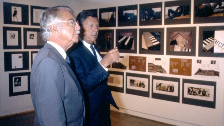 Inside the studio with Walter Landor: Walter Landor and Donald Kubly