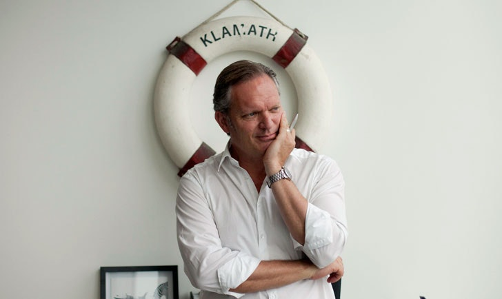 Peter Knapp: Inside the studio with Landor London