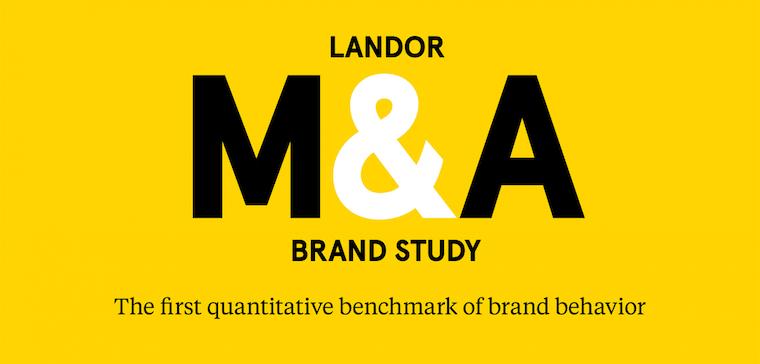 landor m a brand study the first quantitative m a brand benchmark