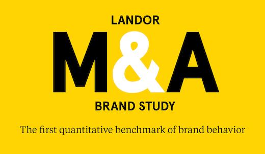 Landor M&A Brand Study: The first quantitative M&A brand benchmark