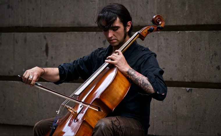 Cello player: Diversity of experience