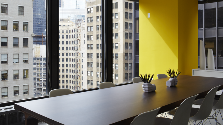 Inside the studio with Landor Chicago: meeting room
