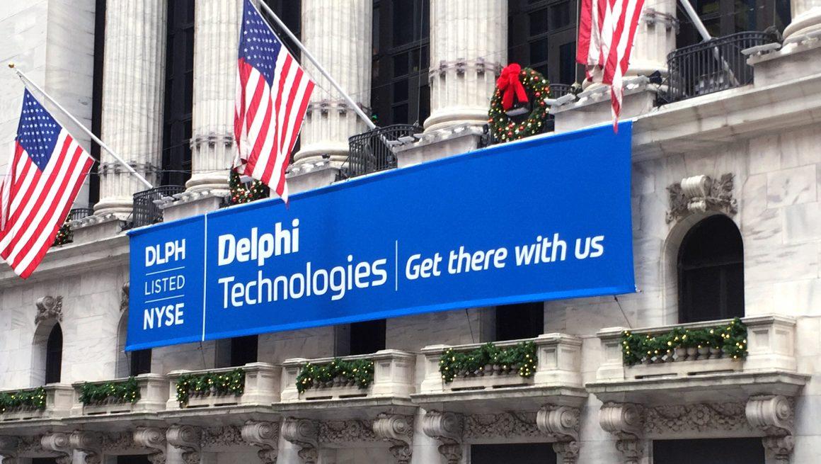 Delphi NYSE