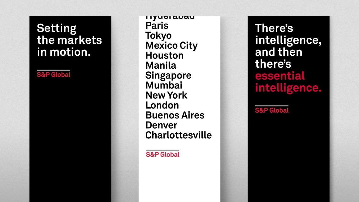 S&P Global Launch Banners