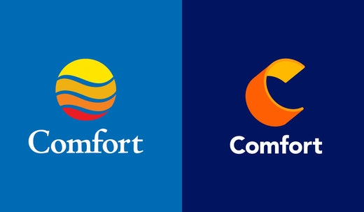 Landor teams with the Comfort brand to refresh its look