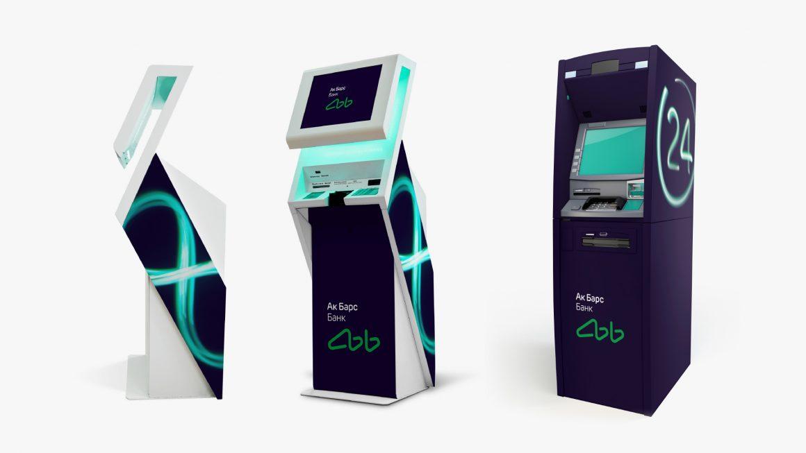 Ak Bars Bank ATMs