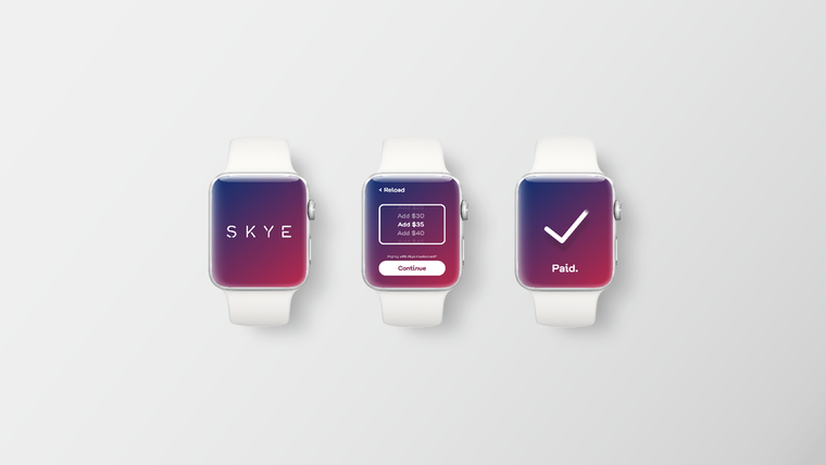 Skye Apple Watch app