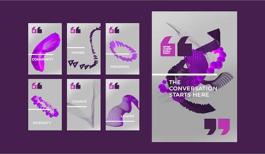 Landor launches innovative socially responsive branding for WPL's Women Leaders Global Forum