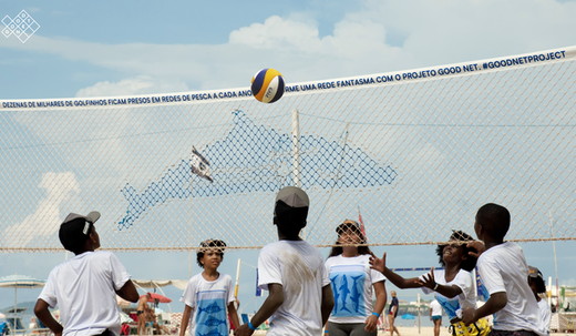 Landor helps FIVB fight marine pollution with Good Net project